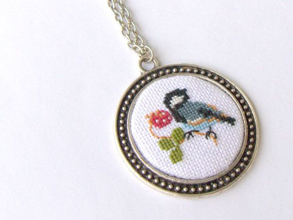 Hey, I found this really awesome Etsy listing at https://www.etsy.com/listing/231745504/cross-stitch-pendant-necklace-little