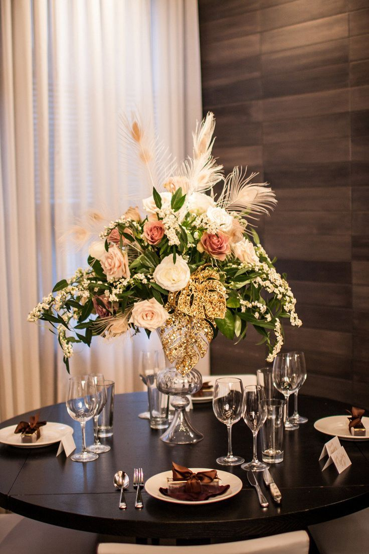 Image result for Great gatsby party centerpiece images