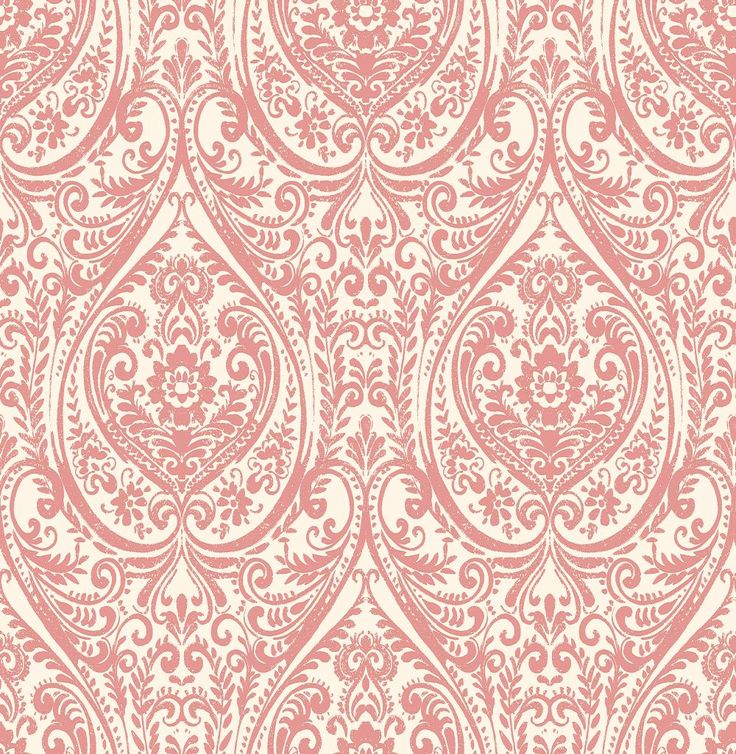 Jodhpur Damask Red wallpaper by Albany