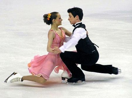 Tessa and Scott (young) Just found this in April of '14. I love it. You can see how young they were.