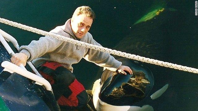 Orca trainer saw best of Keiko, worst of Tilikum – Colin Baird '84