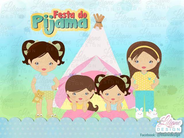 Tema: festa do pijama
