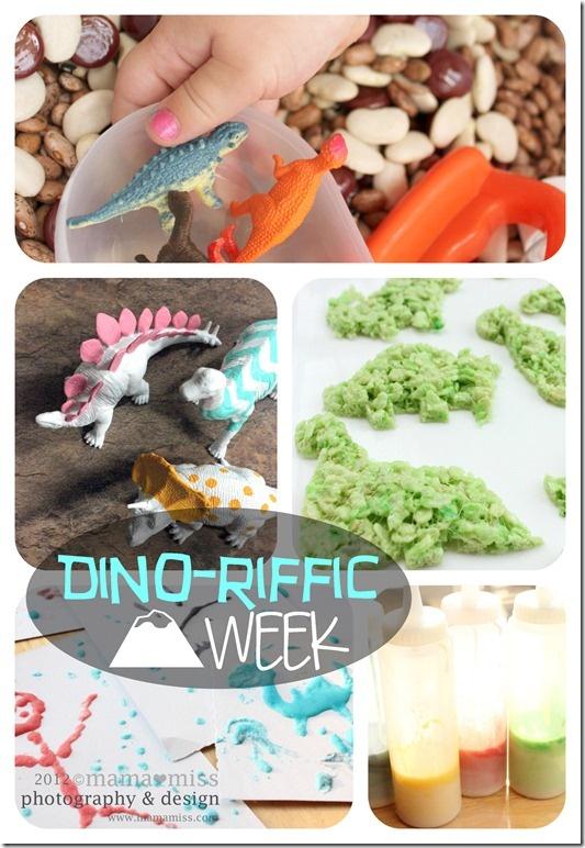 Dino-riffic - Activities & Snacks {mama♥miss}