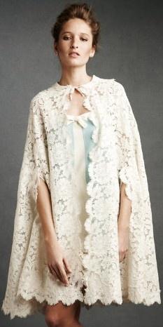 A lace cape, wedding heaven ♥✤ | Keep the Glamour | BeStayBeautiful