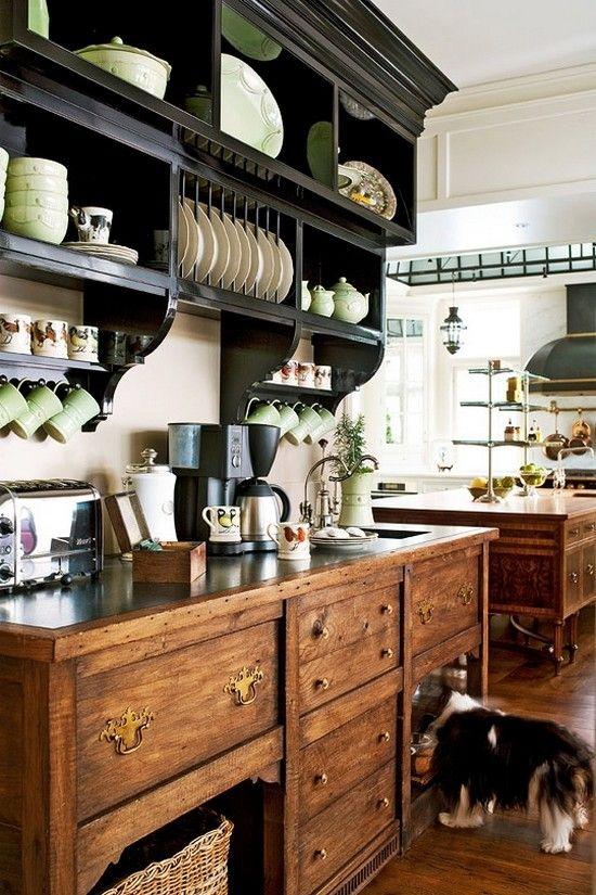 кухня прованс полки - Поиск в Google