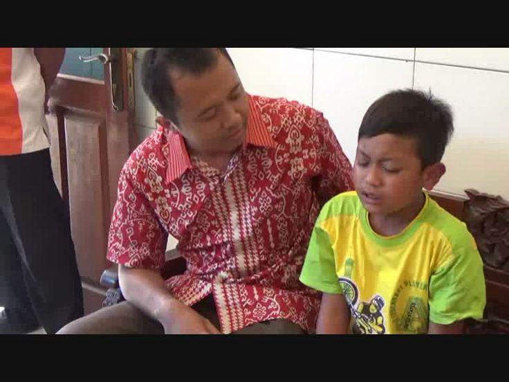 Sering Disiksa, Bocah Kecil Kabur dari Pondok, Diserahkan SPKT Polres pada Keluarganya