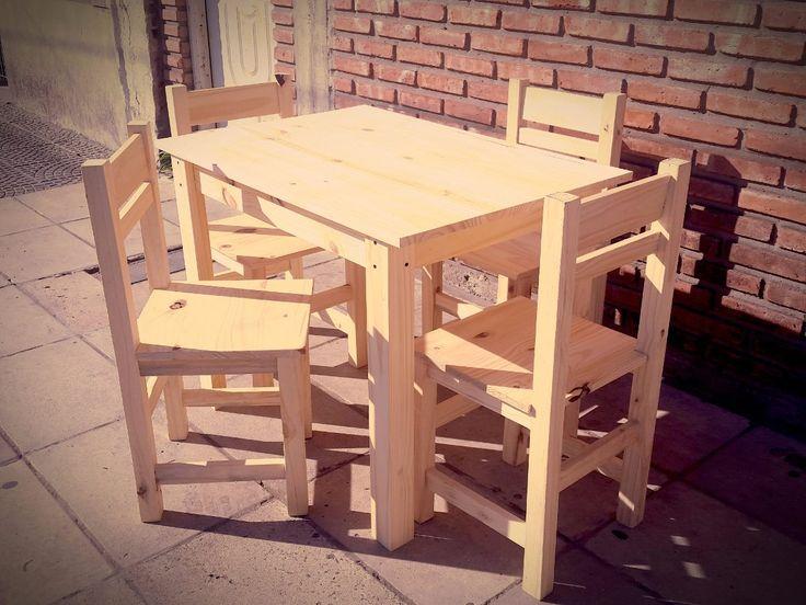 17 mejores ideas sobre juego de sillas de comedor en - Sillas de comedor usadas ...