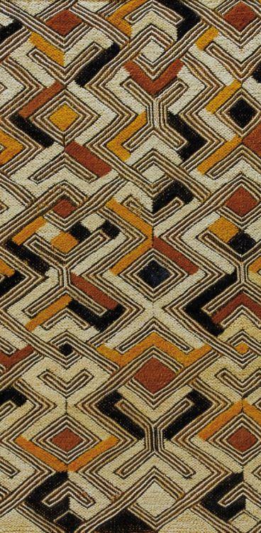 print-spiration: Detail from an 'nbol' from the Shoowa Kuba...