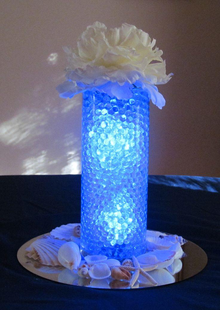 Blue Led Snowflake Christmas Lights