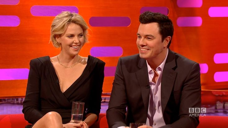 Seth MacFarlane, Tom Cruise, Charlize Theron, and Emily Blunt do voices on the Graham Norton Show. Almost died laughing. Seriously, guys, check this out.