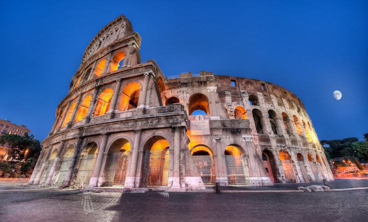 The Colosseum (Il Colosseo) in Rome || Photography by Elia Locardi www.blamethemonkey.com
