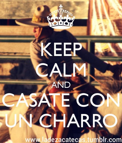 Charros are the best!