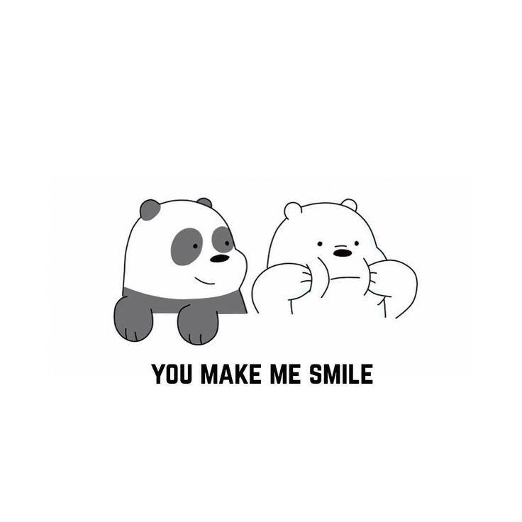We make your smile Kartun, Beruang kutub, Gambar hewan lucu