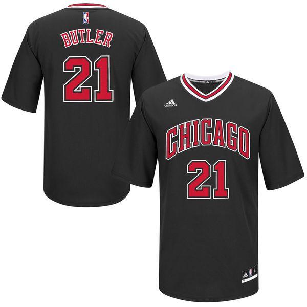 Jimmy Butler Chicago Bulls adidas Replica Basketball Jersey – Black - $69.99