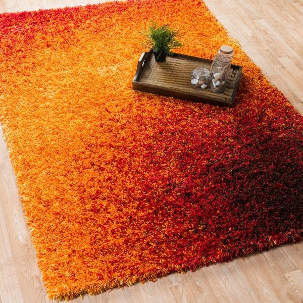 Stella Sunset Shag Rug (7'7 x 10'5) - Overstock™ Shopping - Great Deals on Alexander Home 7x9 - 10x14 Rugs