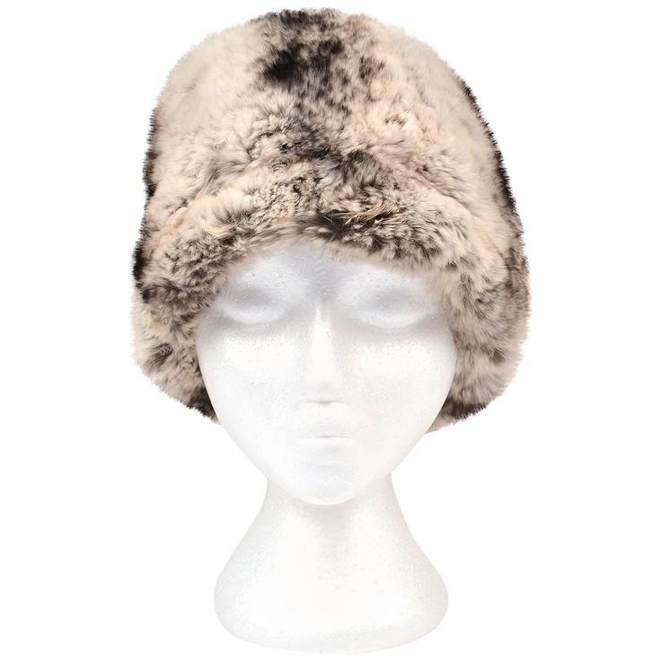 1950s Trebor Original Chinchilla Fur Hat