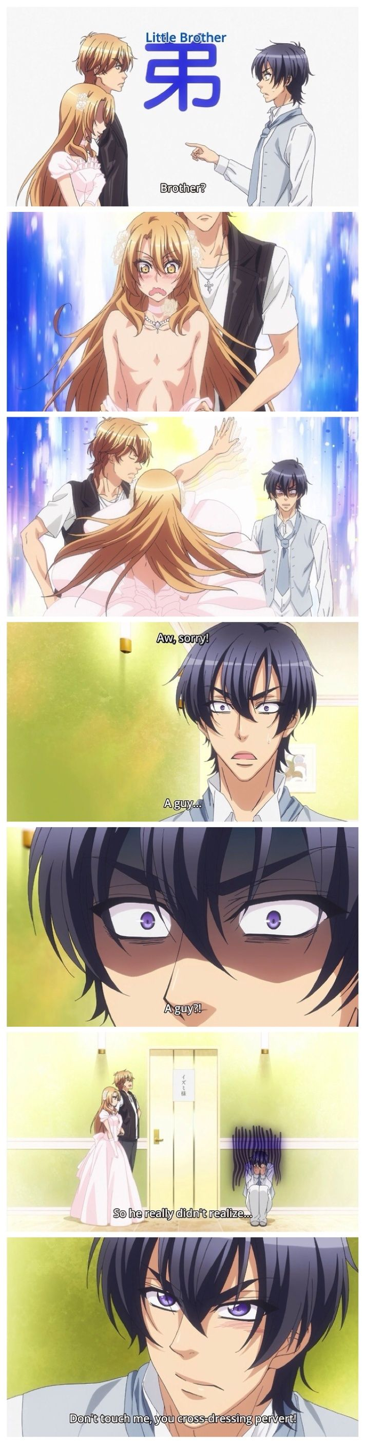 Love Stage. I saw this somewhere else a few days ago, found the anime and now i'm waiting for the new episode on Wednesday! (along with free! eternal summer)
