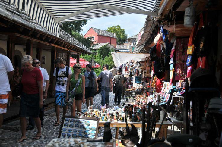 Pamiątki w Mostarze