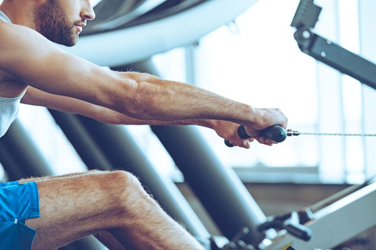 If you're using only one cardio machine at your gym, you're better off saddling up to a rowing machine. It burns 50 percent more fat than stationary bikes.