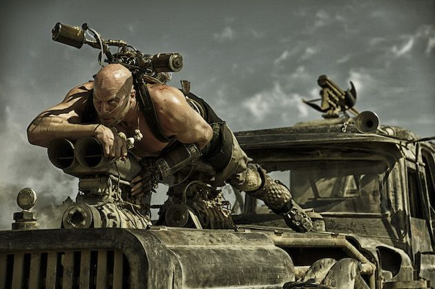 """Caption: NATHAN JONES as Rictus Erectus in Warner Bros. Pictures' and Village Roadshow Pictures' action adventure """"MAD MAX: FURY ROAD,"""" a Warner Bros. Pictures release."""
