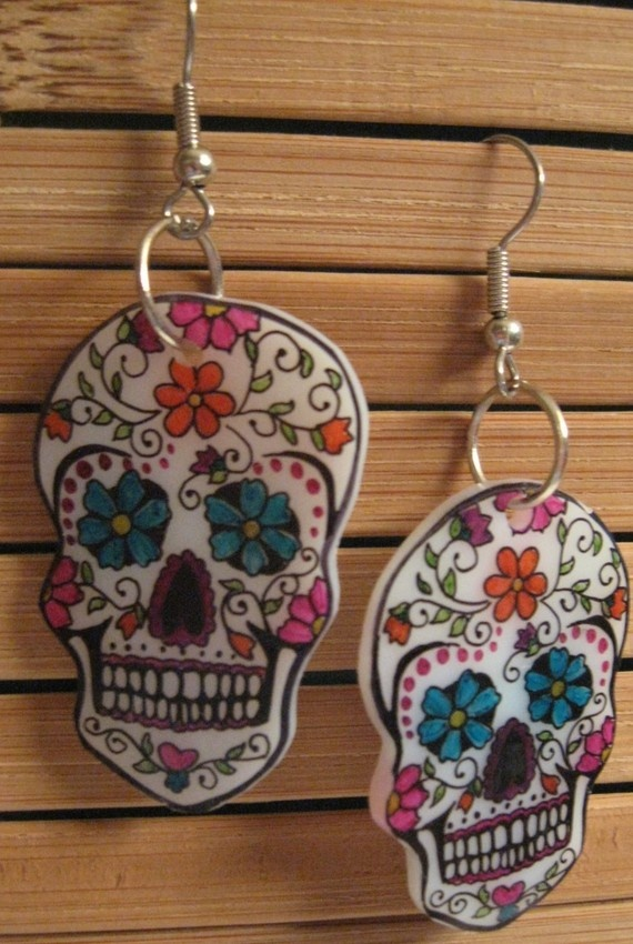 Day of the Dead Sugar Skulls-Small