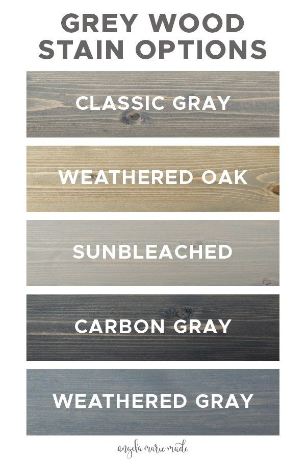 5 Grey Wood Stain Options Grey Stained Wood Staining Wood Stain On Pine