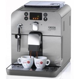 A tradição do verdadeiro Espresso Italiano em um toque. O prazer de uma pausa para um café de alta qualidade.Design compacto, paInel de fácil uso e classificada com o selo Suiço Classe A em economia de energia.