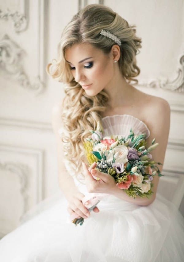 Wedding Hairstyles For Long Hair Bridal Updos For Long: 1000+ Ideas About Long Wedding Hairstyles On Pinterest
