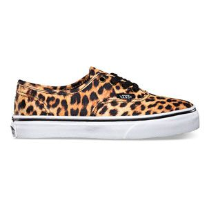 Vans For Kids Girls Leopard