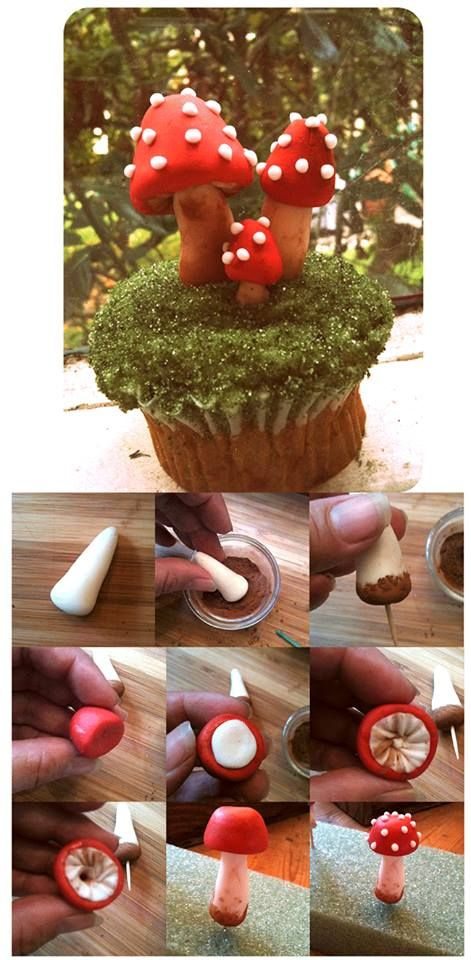 Toadstool Fondant Tutorial - For all your cake decorating supplies, please visit craftcompany.co.uk