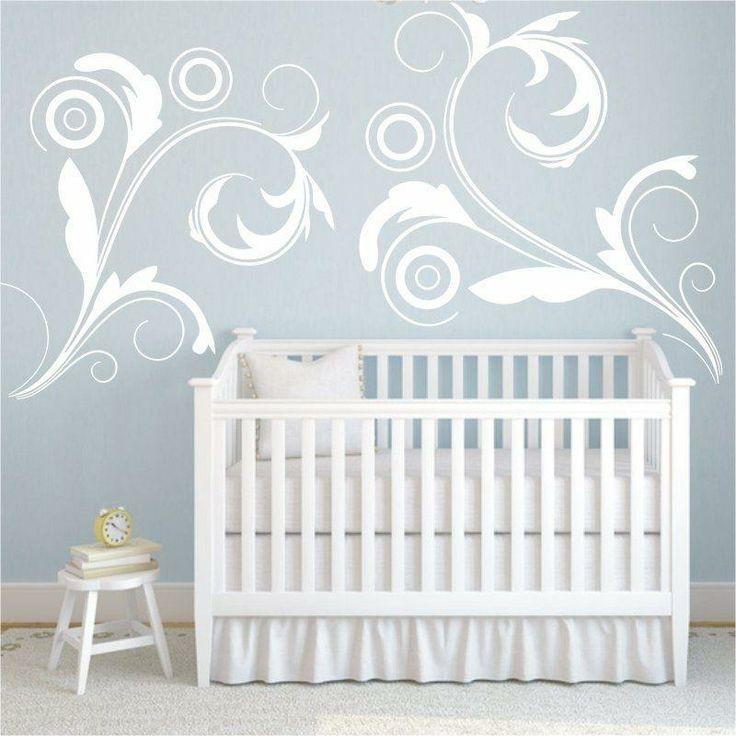 Szablon malarski - Floral | Paint template - Floral | 20,49 PLN #paint  #template #floral #home_decor #interior_decor #design #baby_room #baby_room_decor