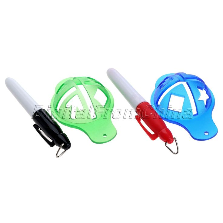 1Set Golf Ball Liner Marker Pen Ball Strokes Golf Training Aids Golf Accessories Waterproof Quick Dry Pen+Liner Marker Cap Sport