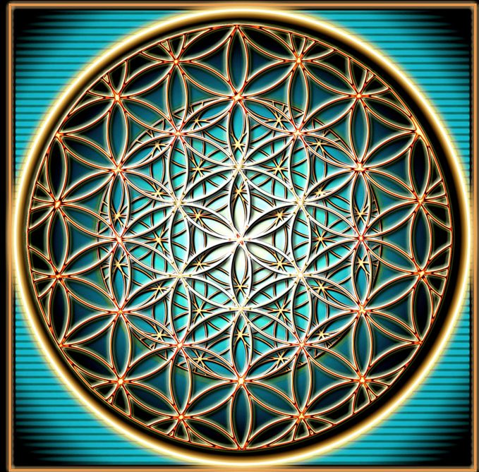 Another Flower of Life - Found in Egypt