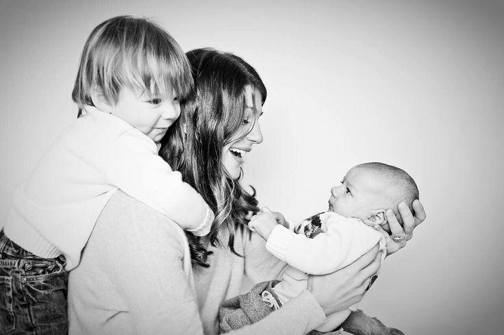 What beautiful kids. Thomas and Shepherd Padalecki with mum Genevieve.