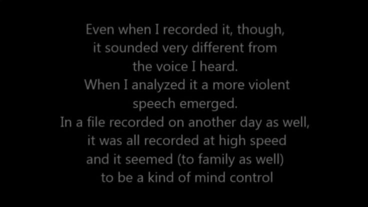 【V2K】I managed to record a voice that only I can hear. Japan's Gangstalking
