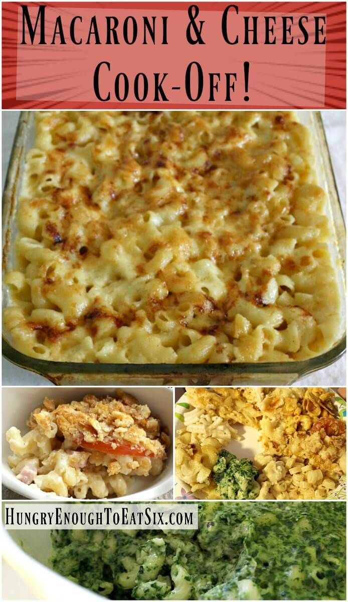 Macaroni & Cheese Cook-Off: Our Most Anticipated Cooking Competition!