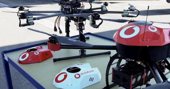 Vodafone Drone-tracking Technology Set to Make Skies Safer