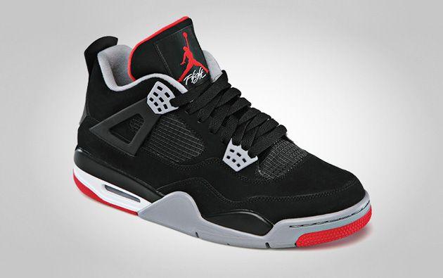Air Jordan 4 Black Red - Disponible - Sneakers.fr   Air jordans ...