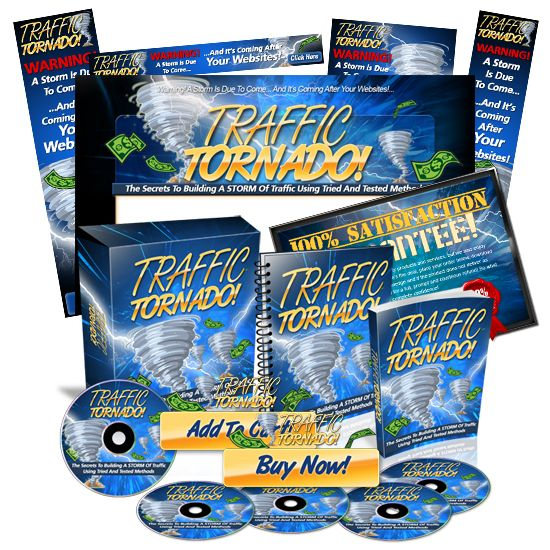 Minisite Graphics Set #23: Traffic Tornado
