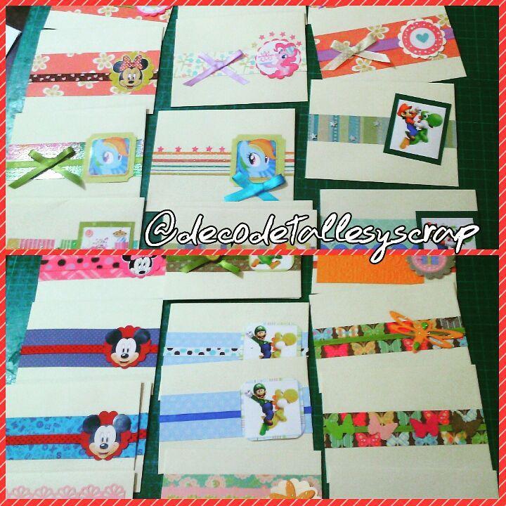 Envelopes for cash gifts