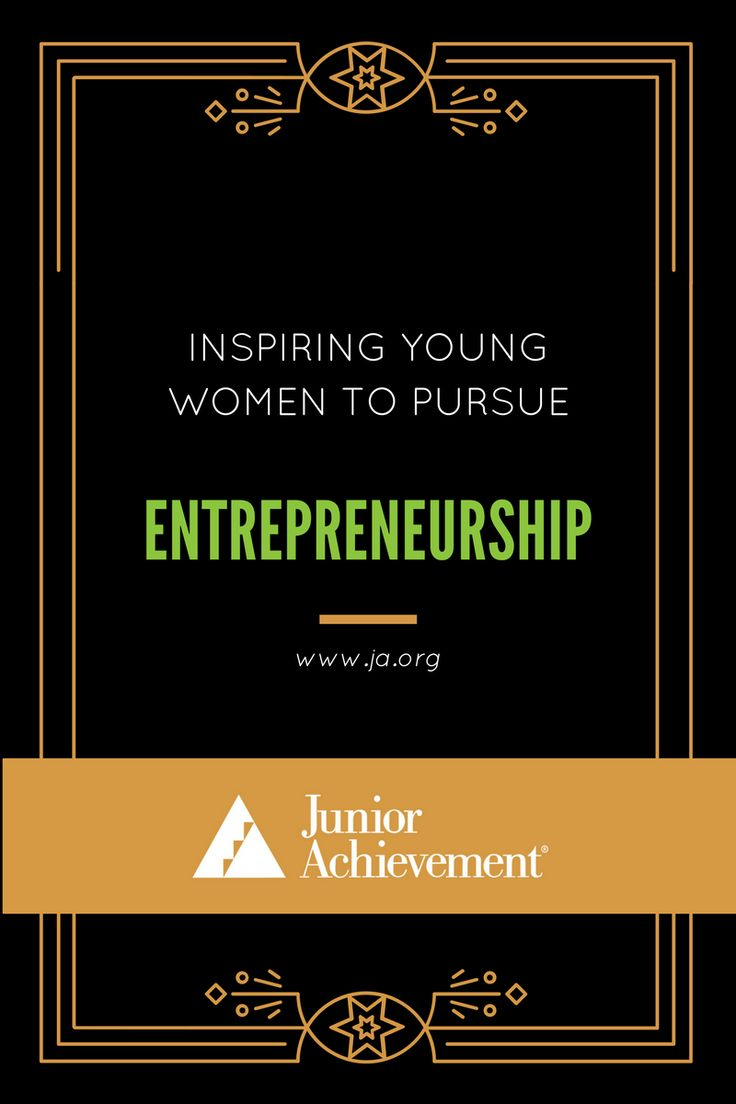 Do you know the #importance of female entrepreneurship? Click to learn how JA helps encourage #Female students to achieve their #dreams at www.ja.org
