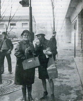 Tove Jansson and Tuulikki Pietilä in France 1968