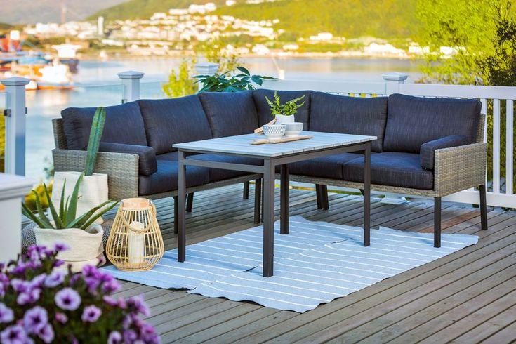 Singel, par eller storfamilie? Dette er sommerens fineste sittegrupper - Byggmakker.no