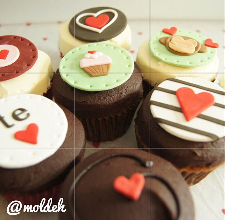 Cupcakes temporada San Valentín '15 <3 // Valentines Cupcakes '15 <3
