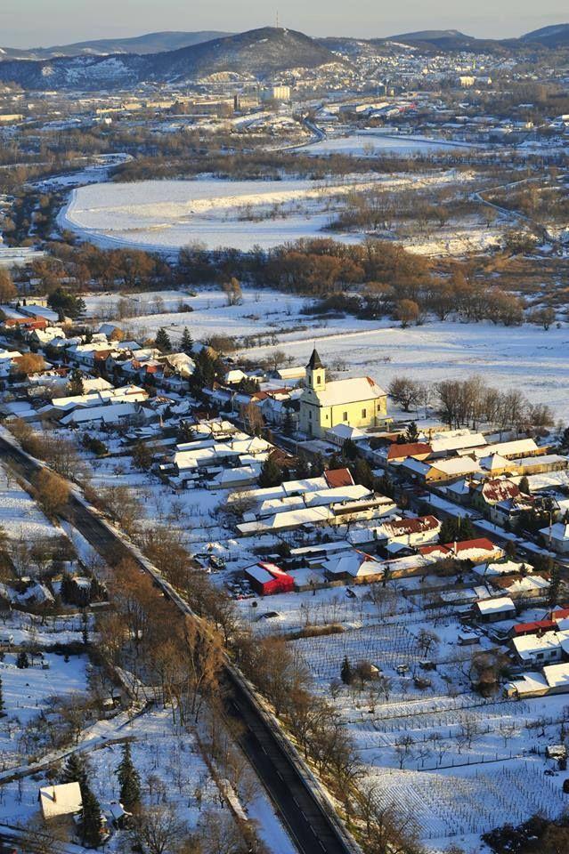 Tatabánya -Alsógalla, a háttérben Felsőgalla.  Hungary. (Foto: Varga Norbert)