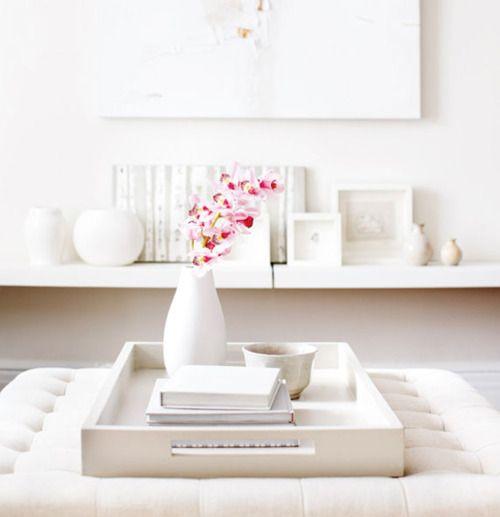 ♥: Decor, Interior, Living Rooms, Idea, Sweet, Style, Coffee Table, Design, White Room