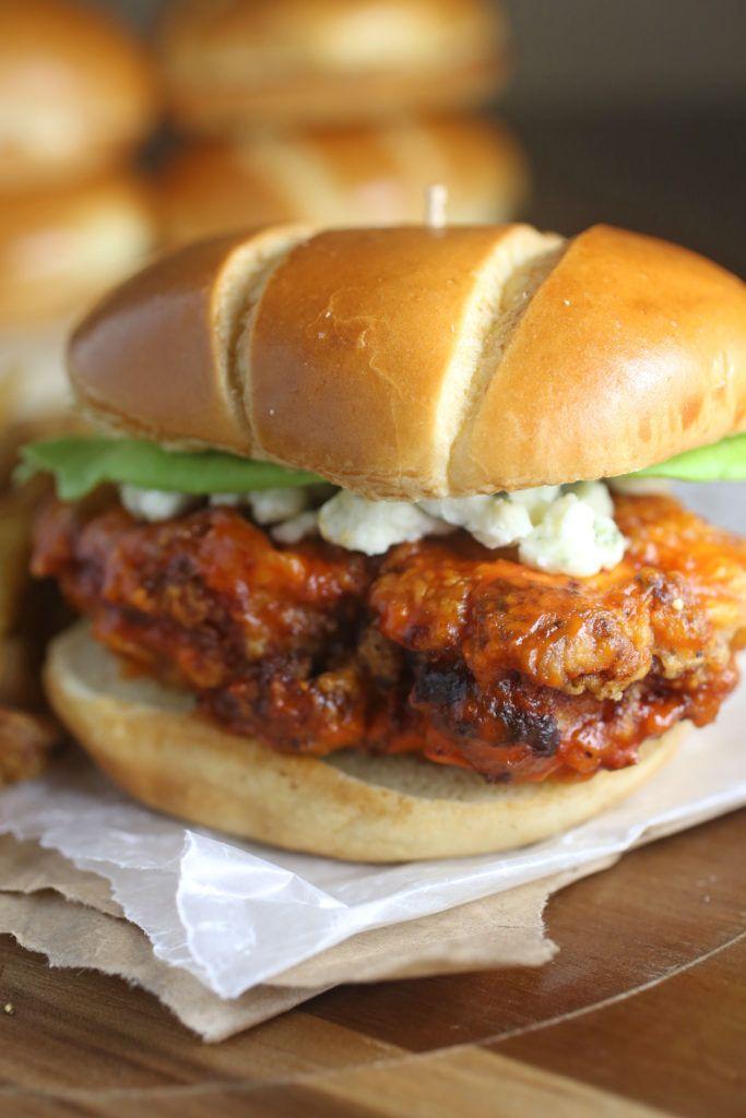 Crispy Buffalo Chicken Sandwich   Brown Sugar