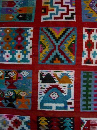Blog de artunisia :Carnet de voyage en Tunisie, Tapis traditionnel tunisien