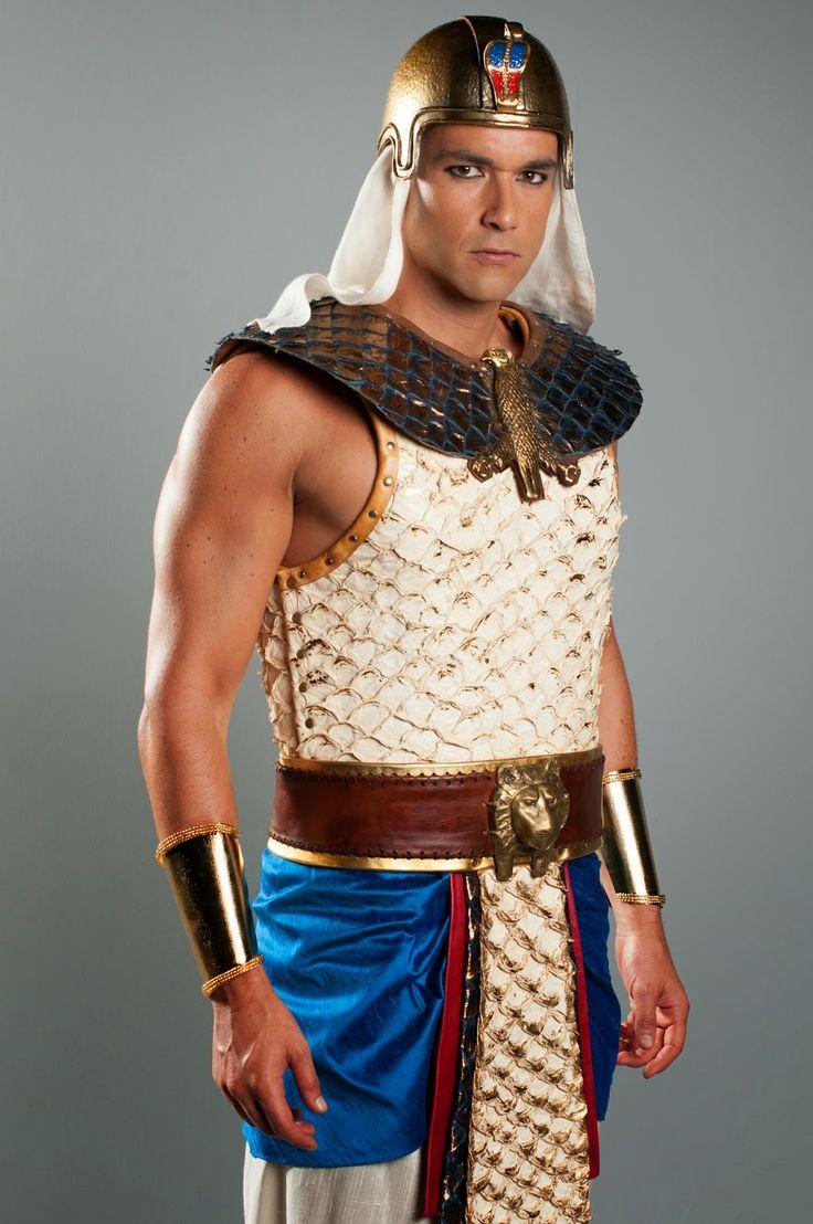Sergio Marone as Ramses, before becoming pharaoh.