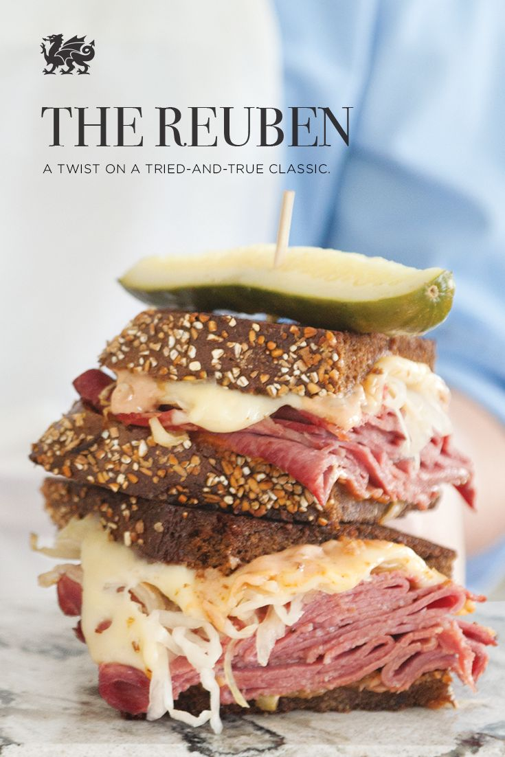 A simple twist to make the best Reuben sandwich of your life.